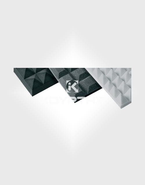 Πυραμιδοειδή ηχομονωτικά υλικά